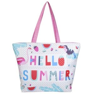 Handbags - 'Hello Summer' Beach Tote Bag